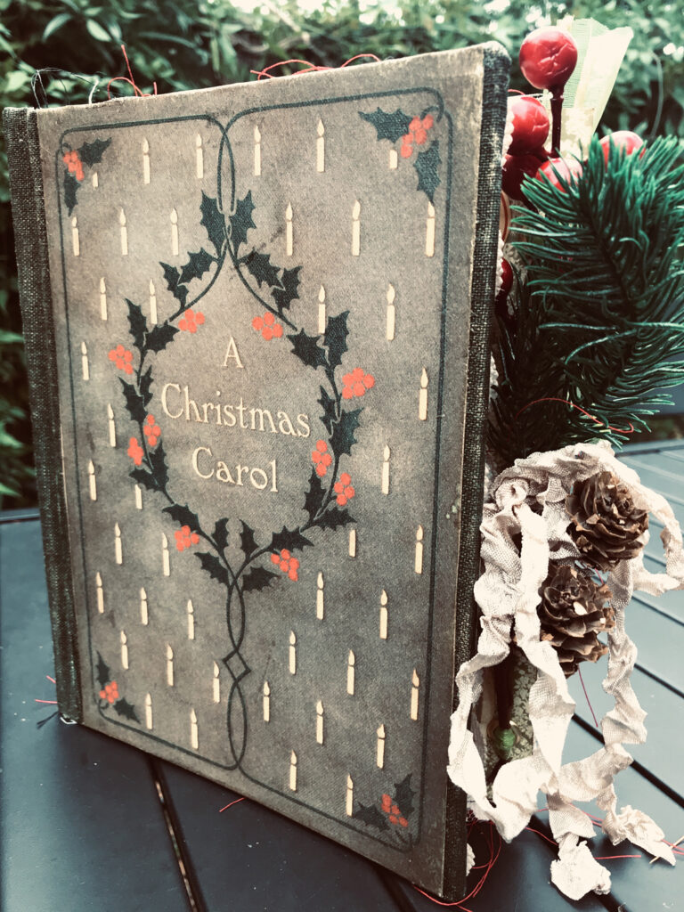 Christmas Carol Junk Journal Cover