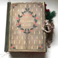 A Christmas Carol Junk Journal