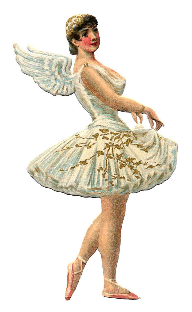ballerina angel wings image