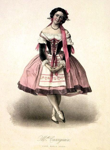 ballerina pink dress costume image