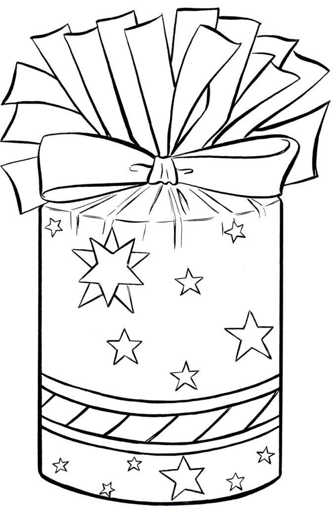 Christmas present bow image