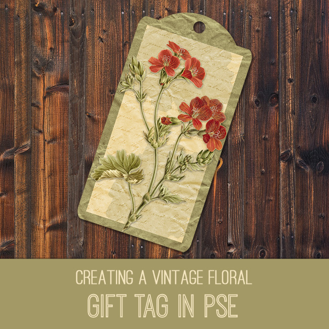 PSE Tutorial gift tag