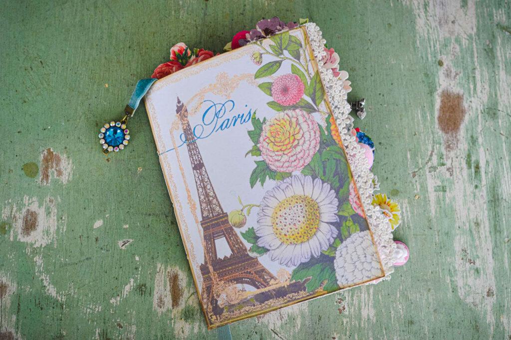 Paris Junk Journal Cover