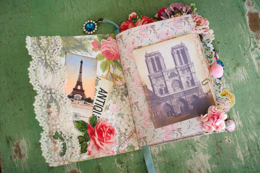 French ephemera journal page