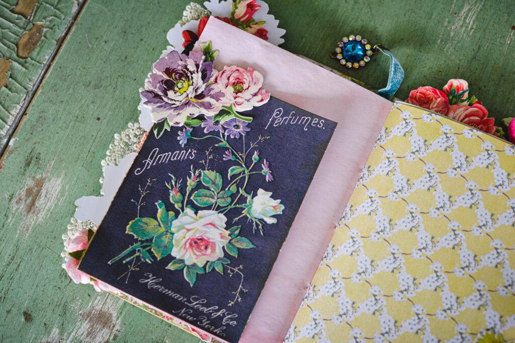paris journal floral page