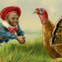 Little boy with Turkey