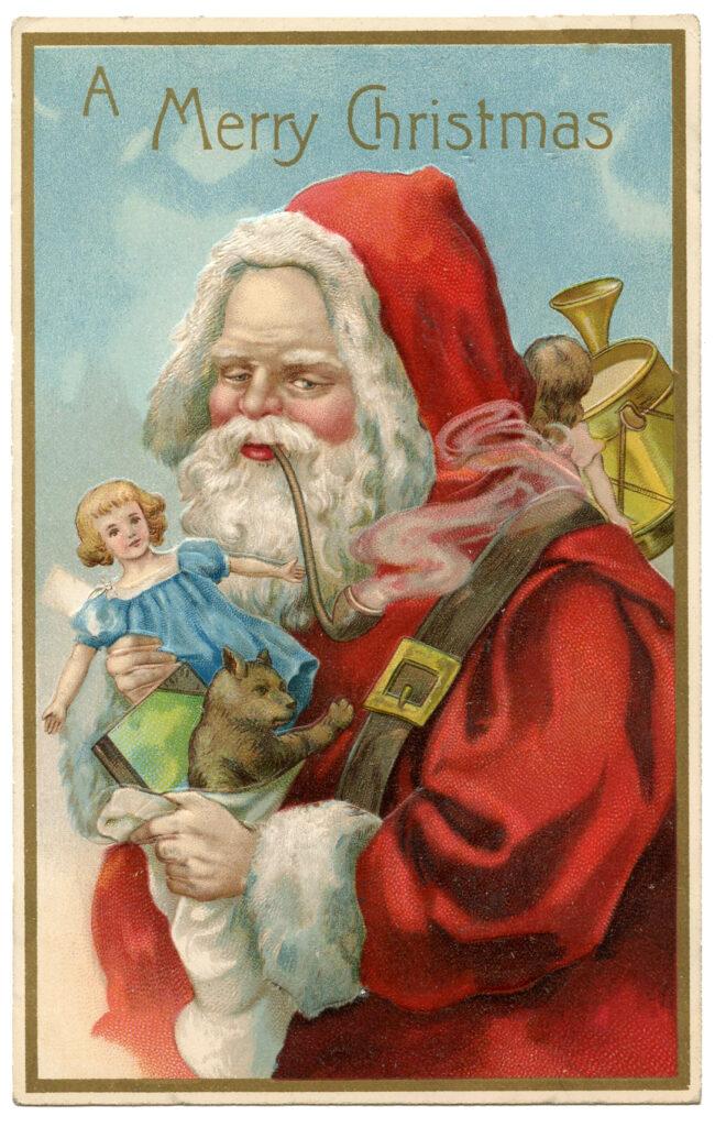 Santa Pipe Image