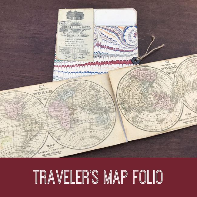 travelers map folio tutorial