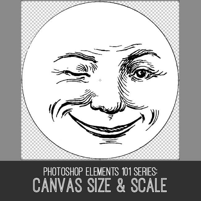 PSE tutorial Canvas Size & Scale