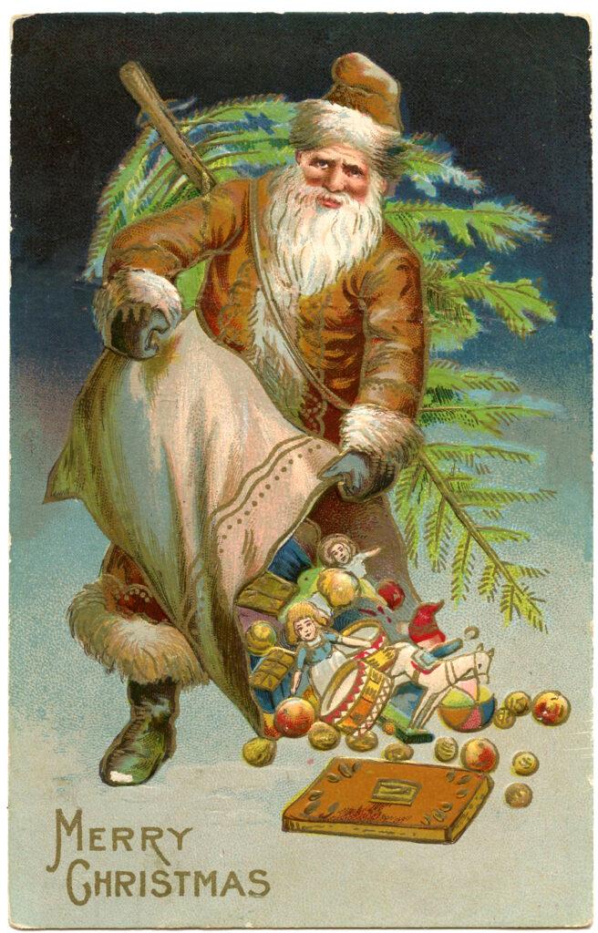 Brown Robe Santa Clause