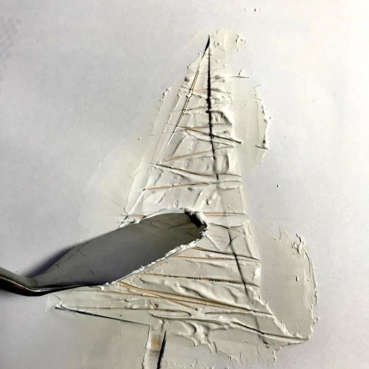 Creating Marks in Texture Medium Tree
