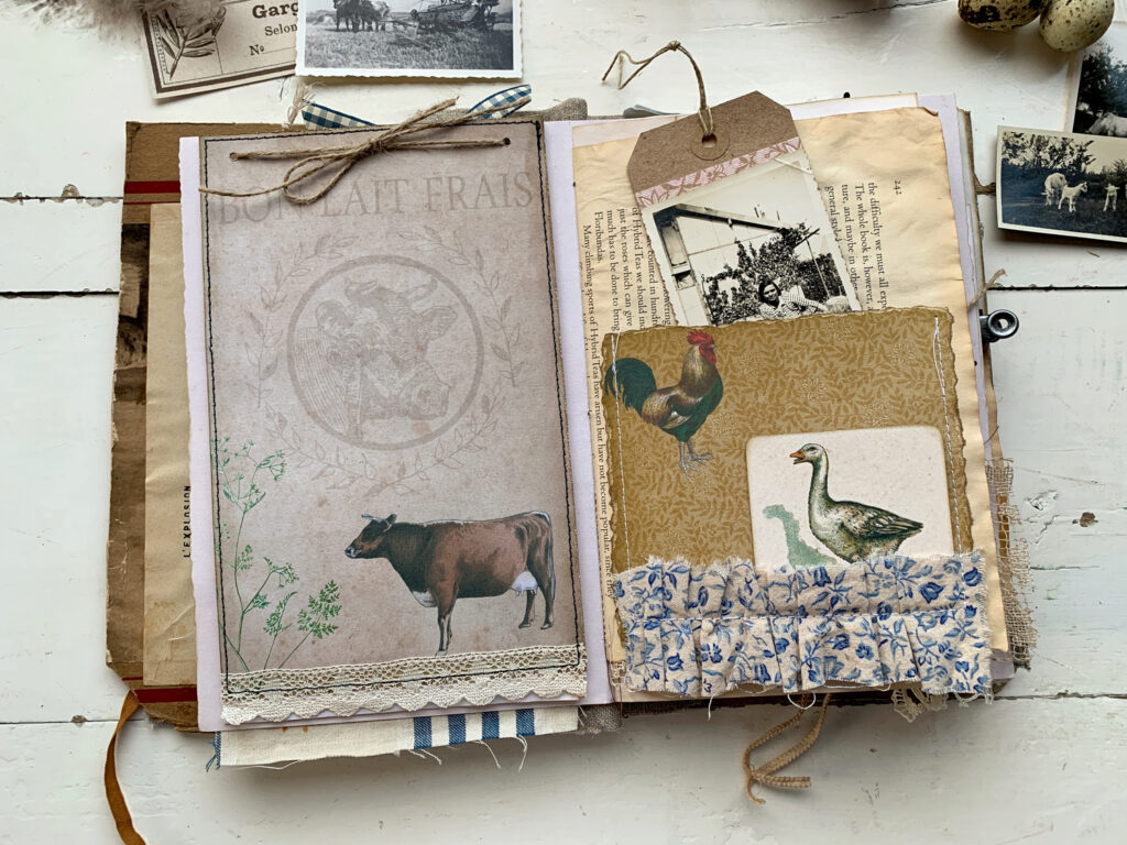french farmhouse journal page