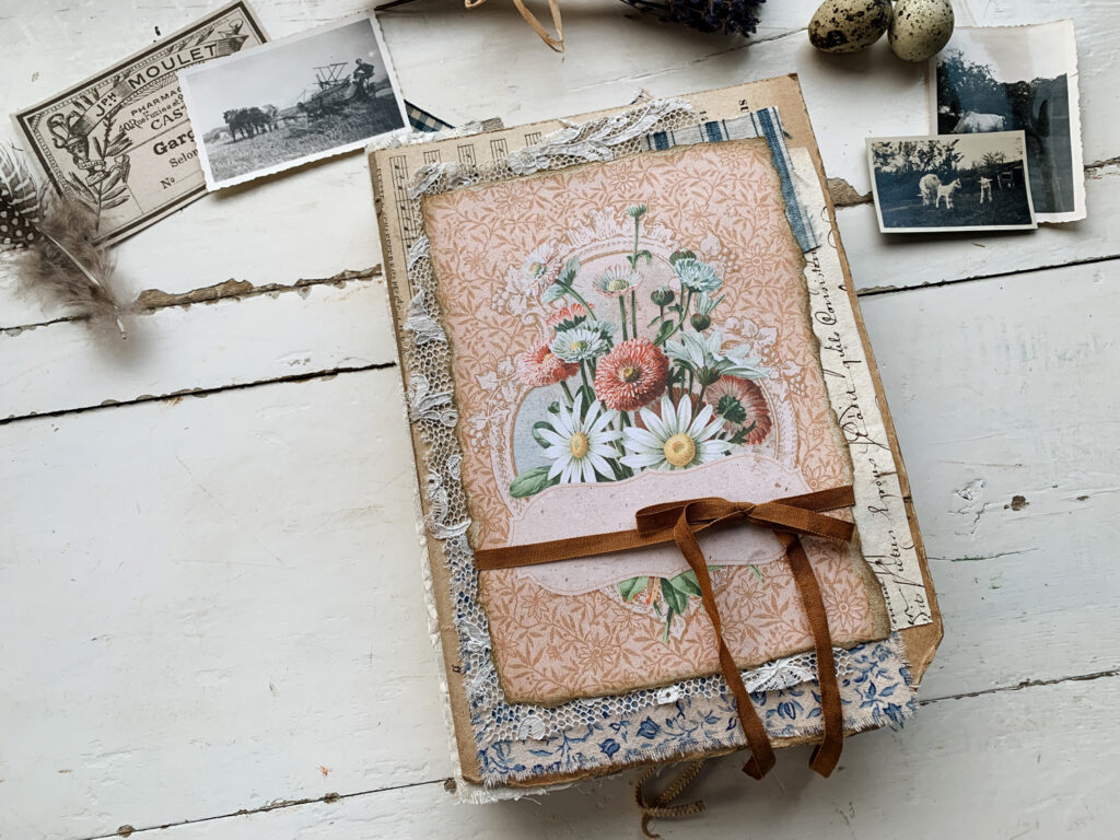 French Farmhouse Junk Journal cover