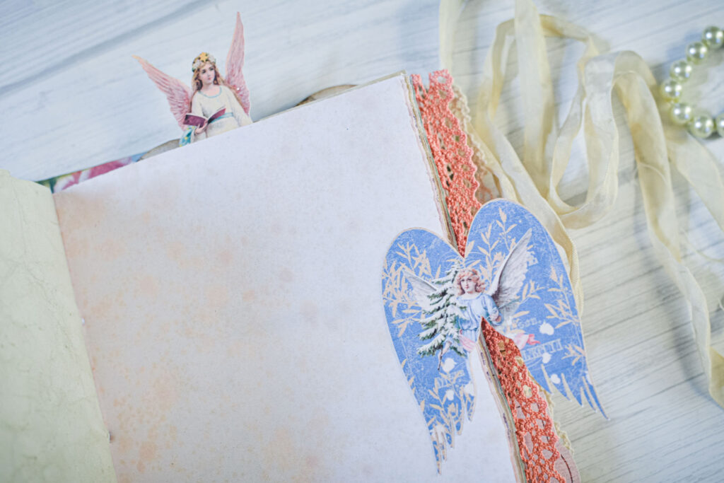angel images journal embellishment