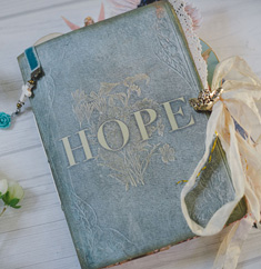 Hope junk journal cover