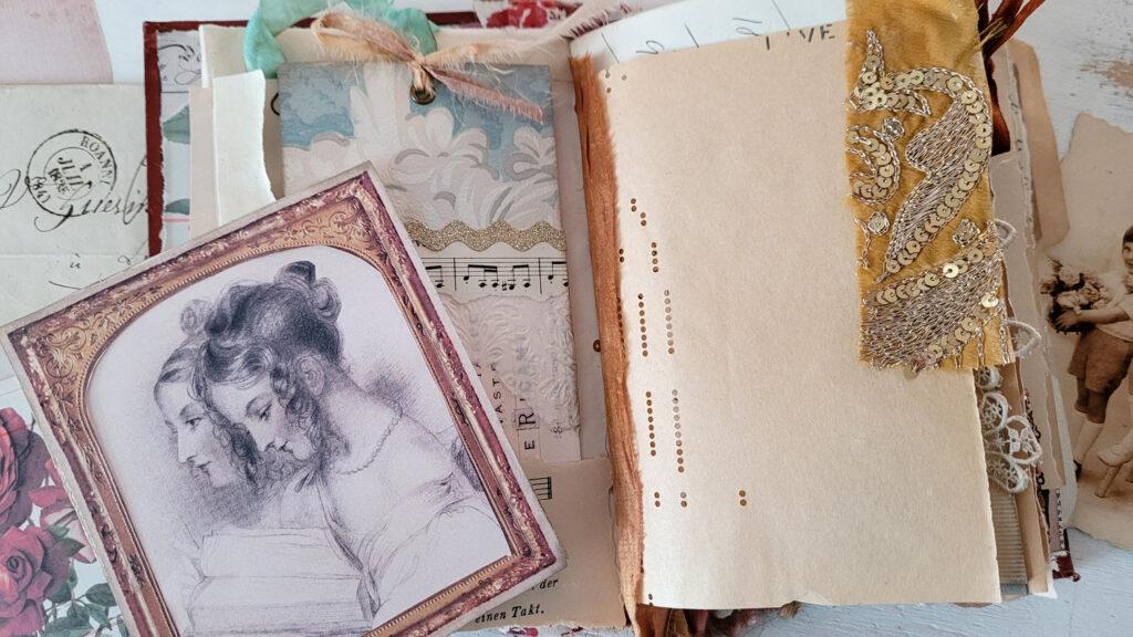 Emma bundle ladies reading journal page