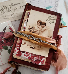 Ruby Red Junk Journal