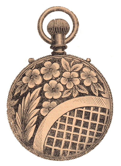 Gold Pocket watch image