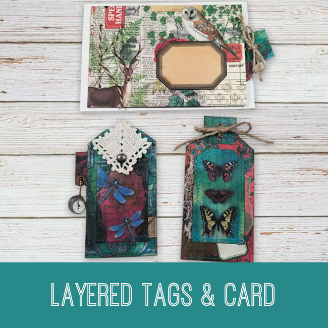Layered tags and card tutorial
