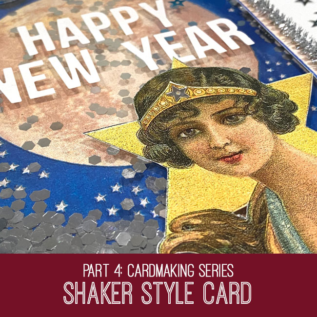 Shaker Style New Year Card