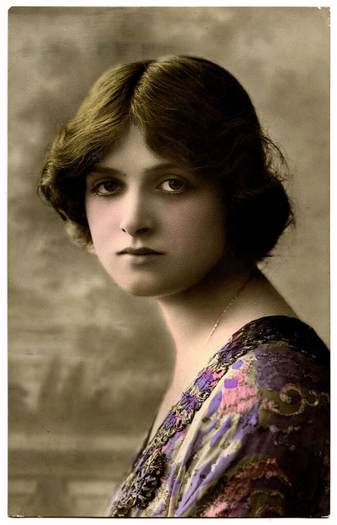 Actress Gladys Cooper vintage photo image