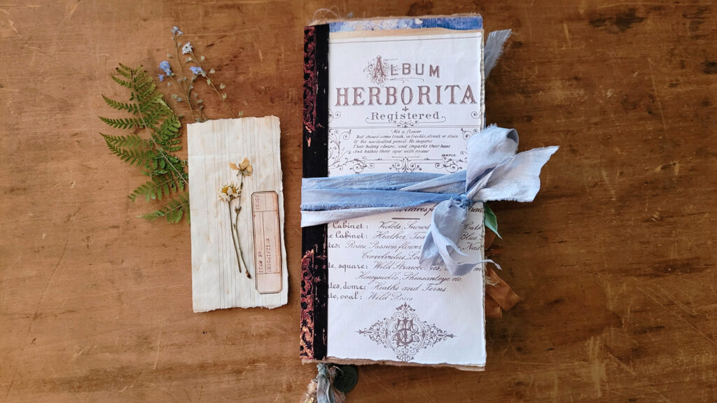 Botanist Junk Journal