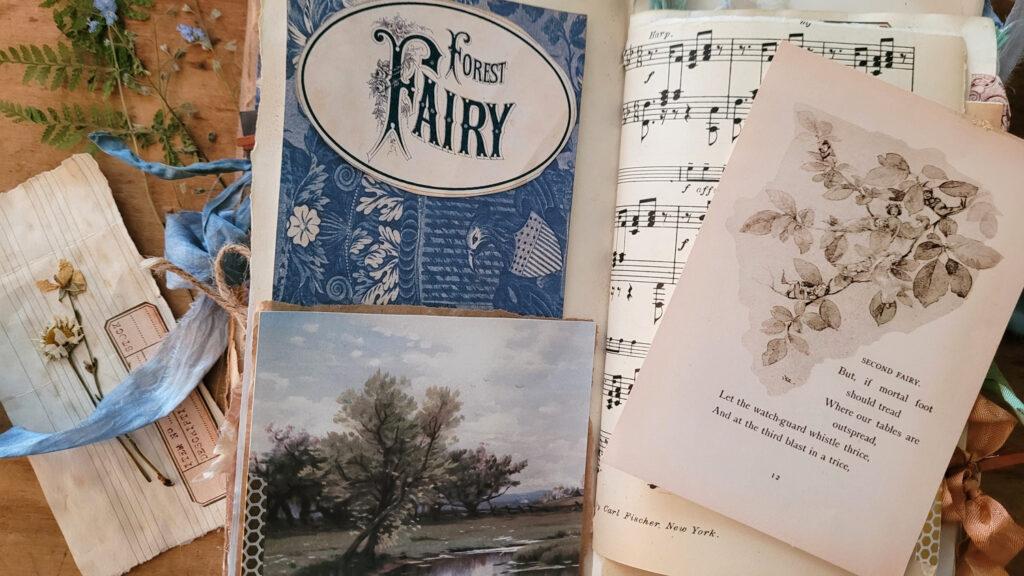 Forest Fairy journal card