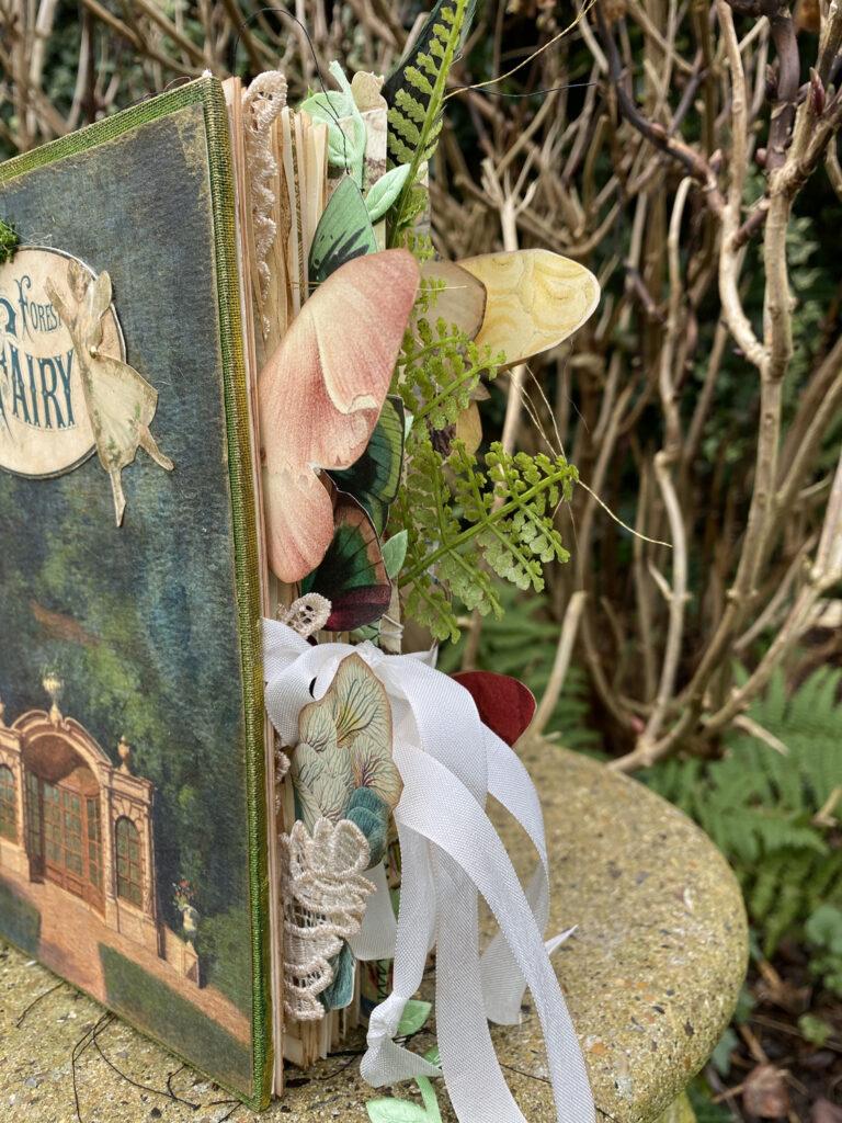 forest fairy junk journal edge embellishments