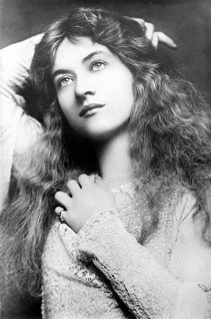 Maude Fealy vintage actress image