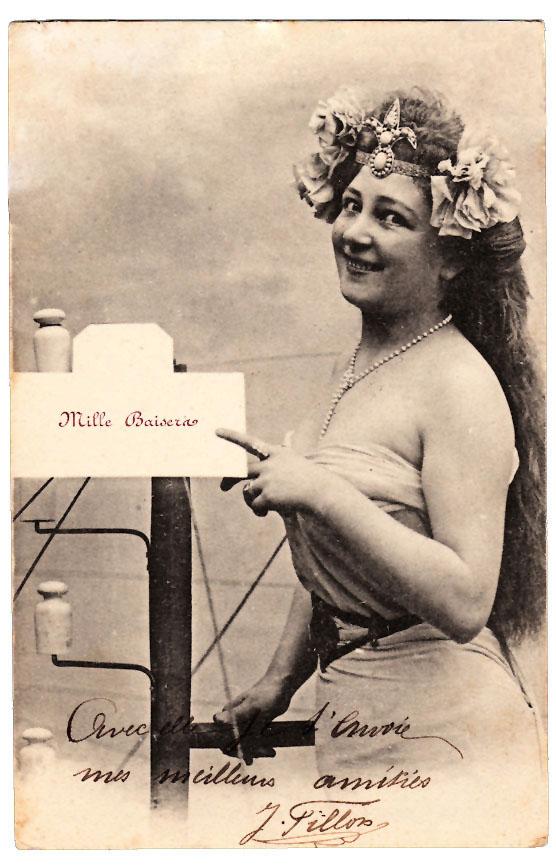 mermaid lady vintage photo clip art