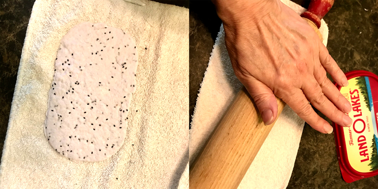 Remove Paper from Mold Roll