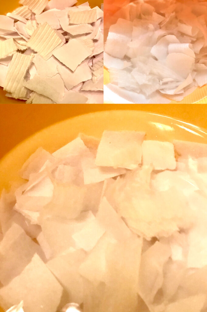 Tear SOak Paper Compolsite