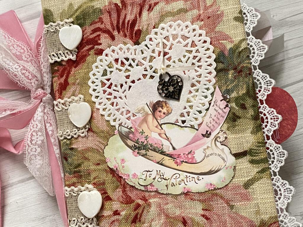 Valentine Junk Journal Cover