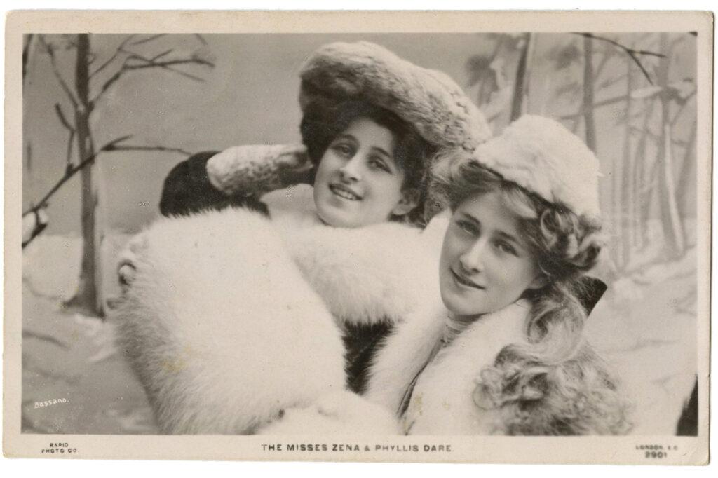vintage actresses fur hats image