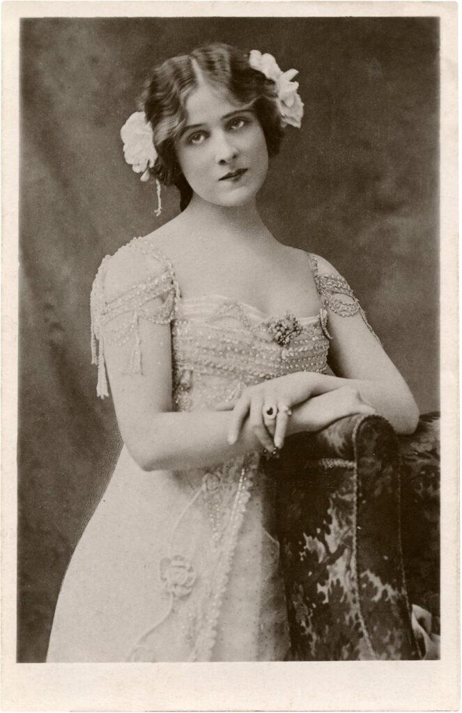 vintage actress image