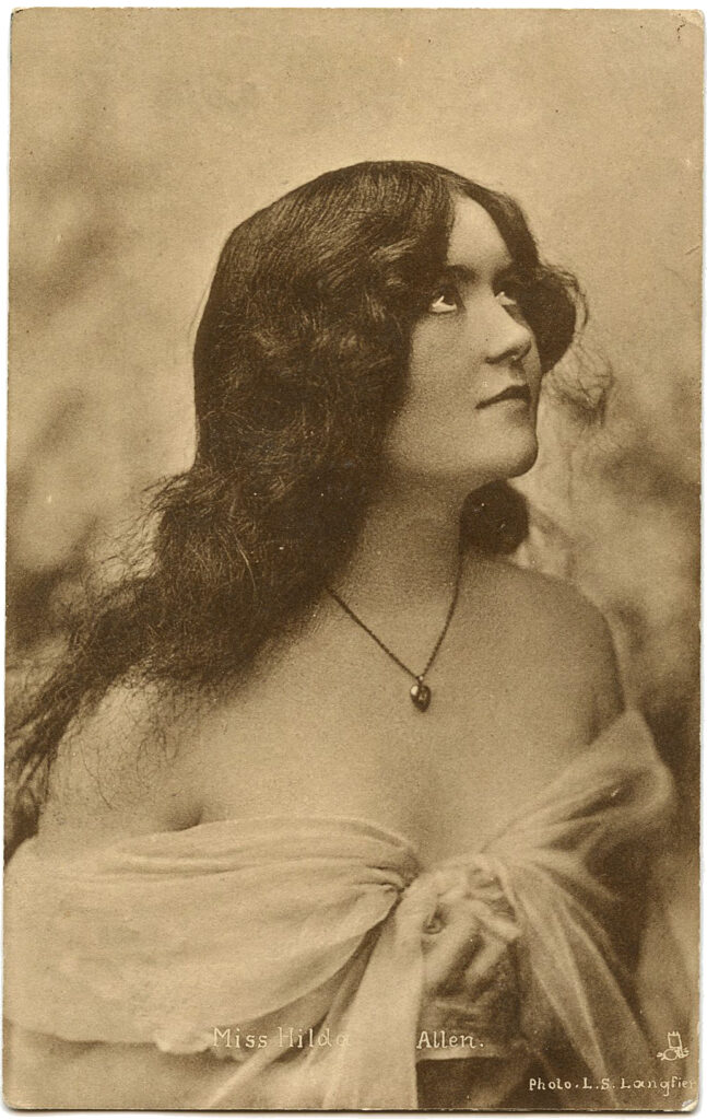 antique photo actress clipart