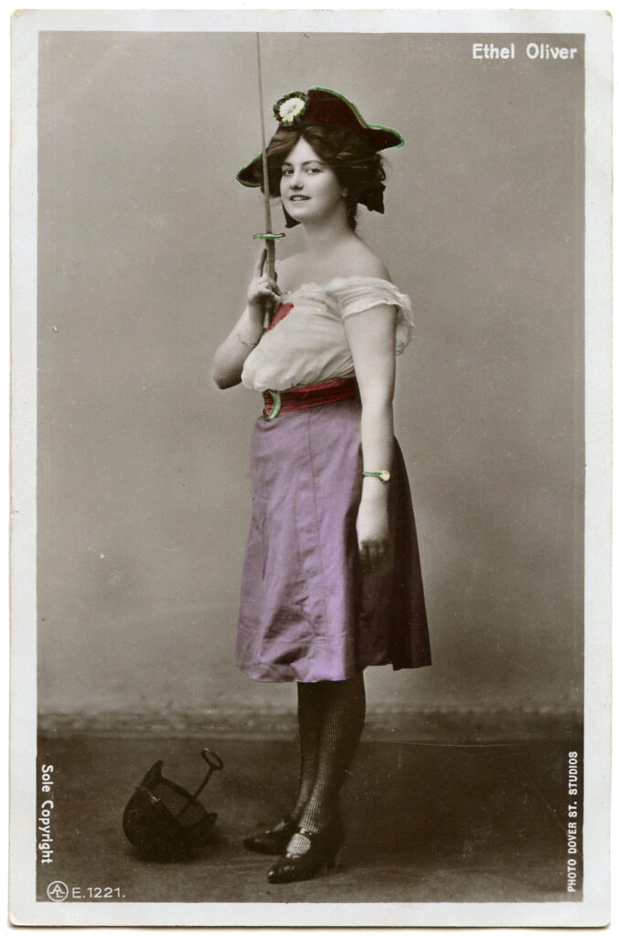 vintage actress pirate photograph image