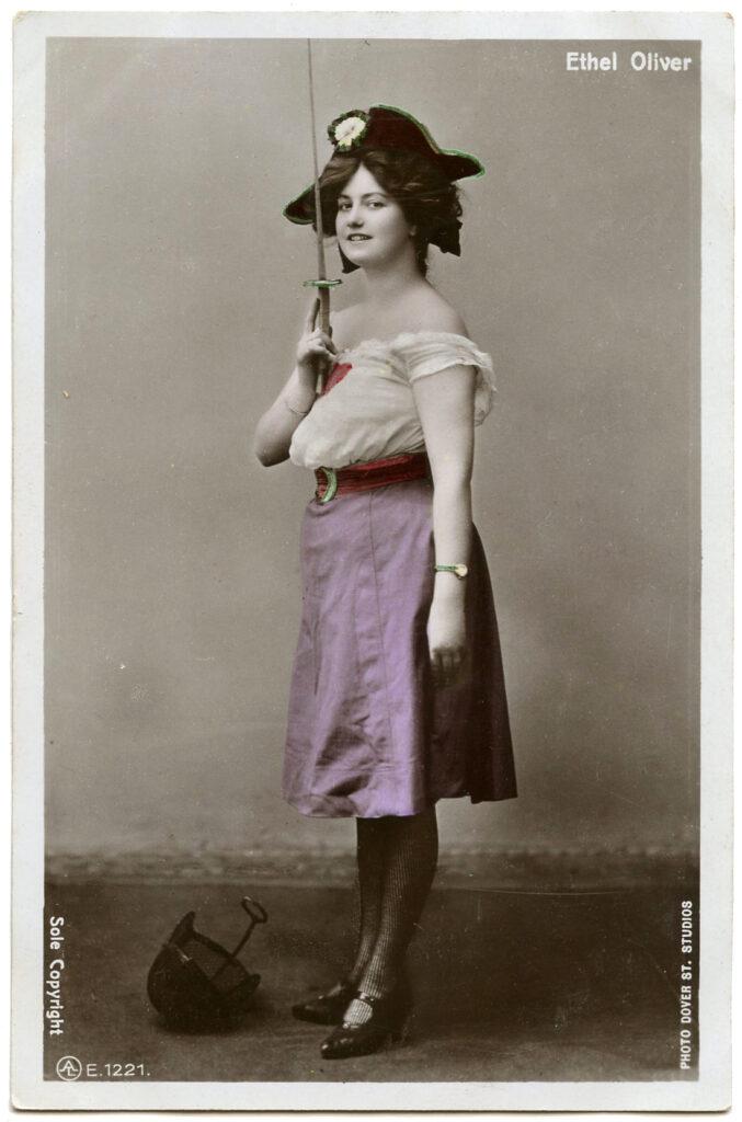 vintage actress pirate photograph image