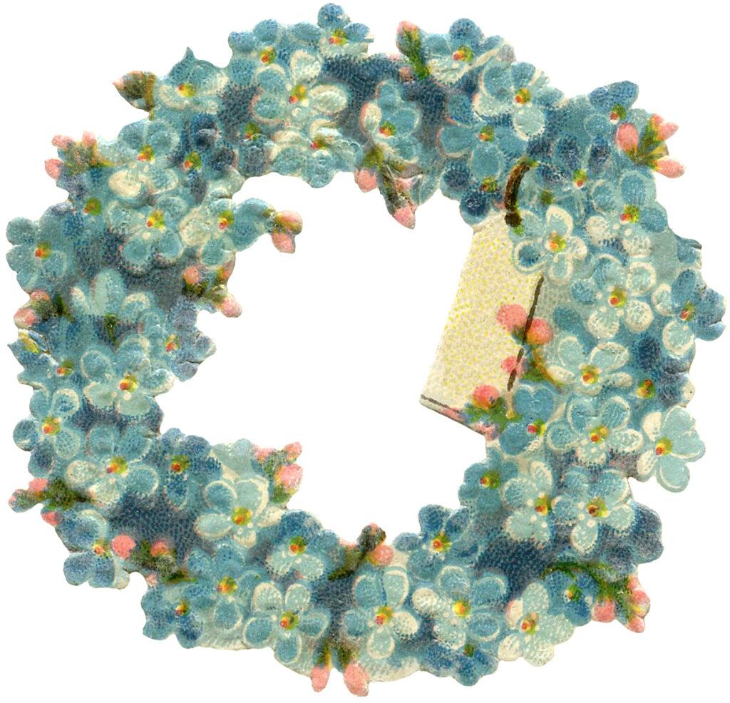 hydrangea wreath image