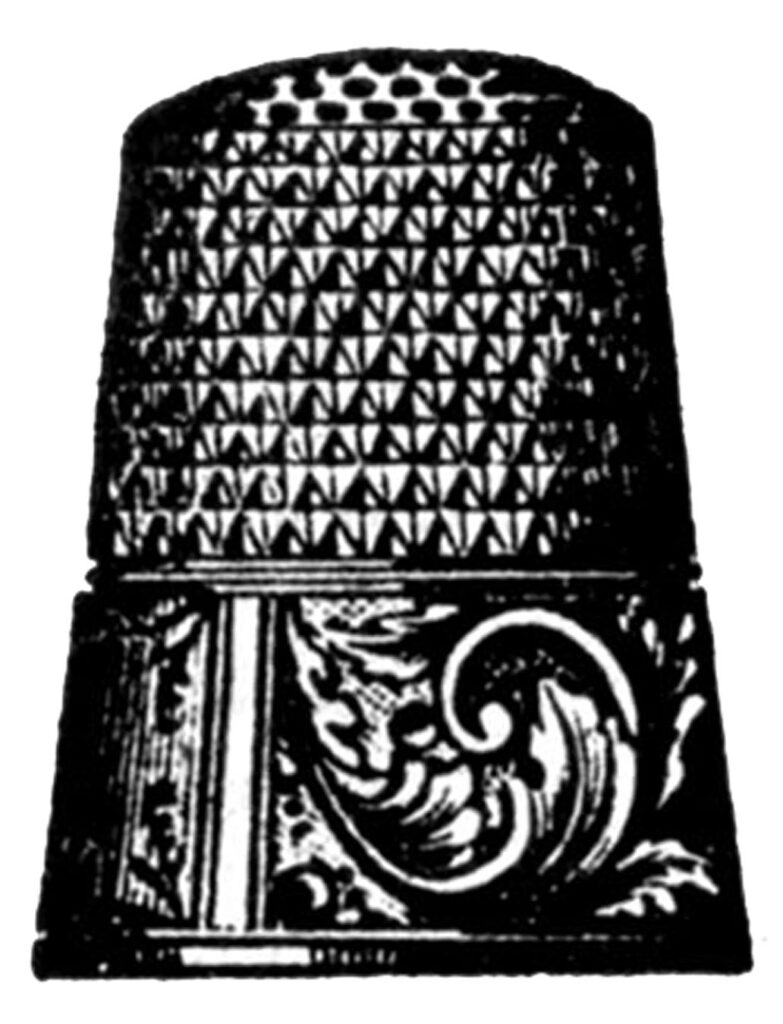 thimble scroll detail image