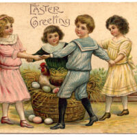 children eggs Easter image
