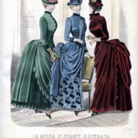 Victorian Fall fashion image