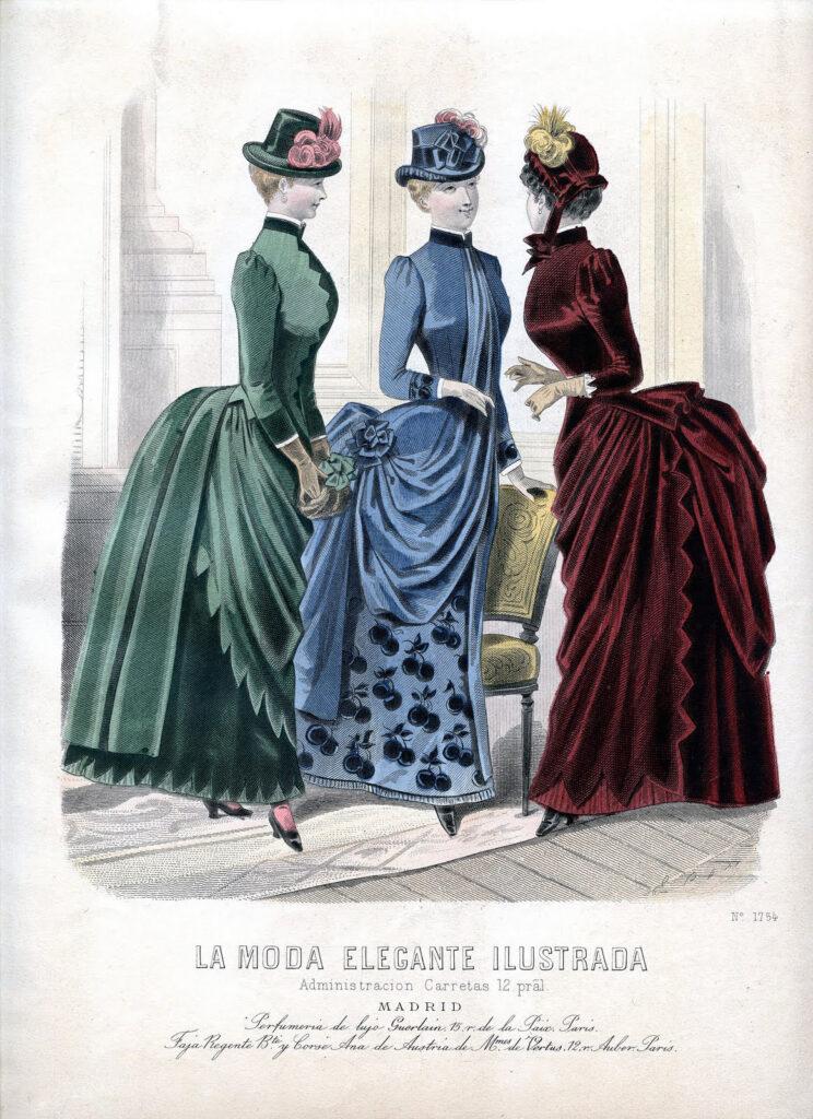 Victorian Fall fashion image