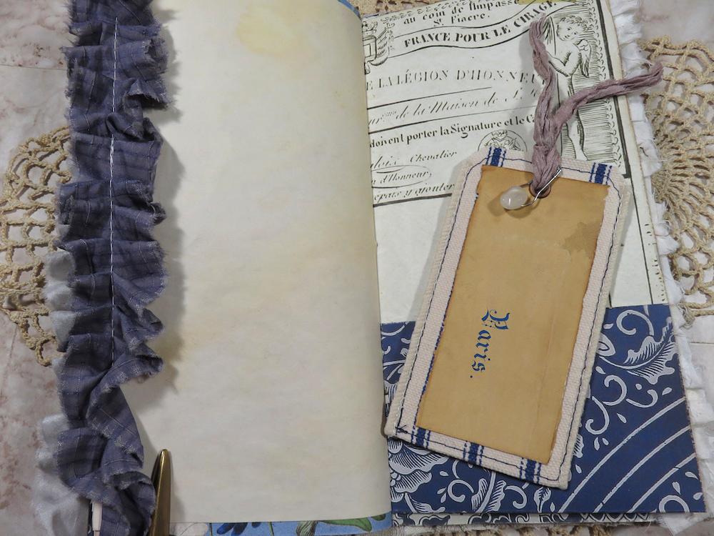 Paris journaling card