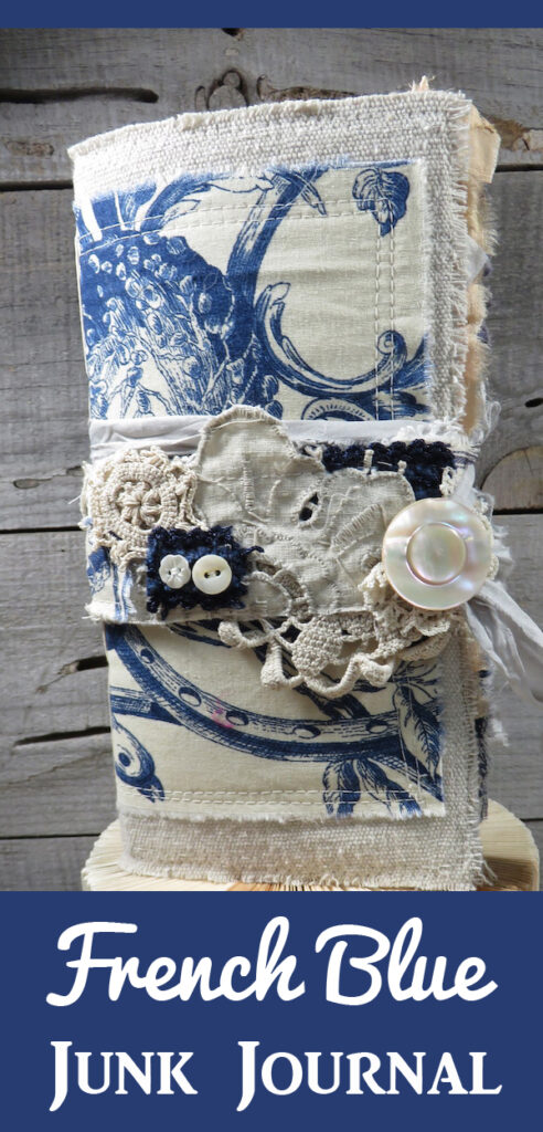 French Blue Junk Journal