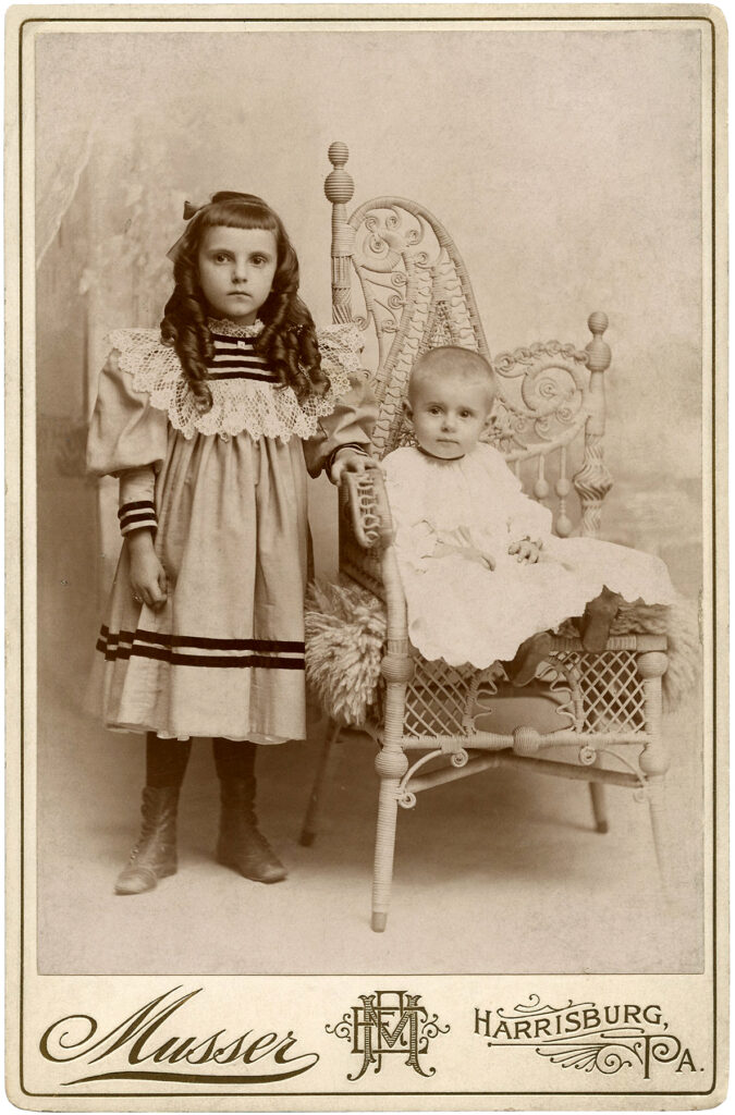 girl baby victorian photograph image