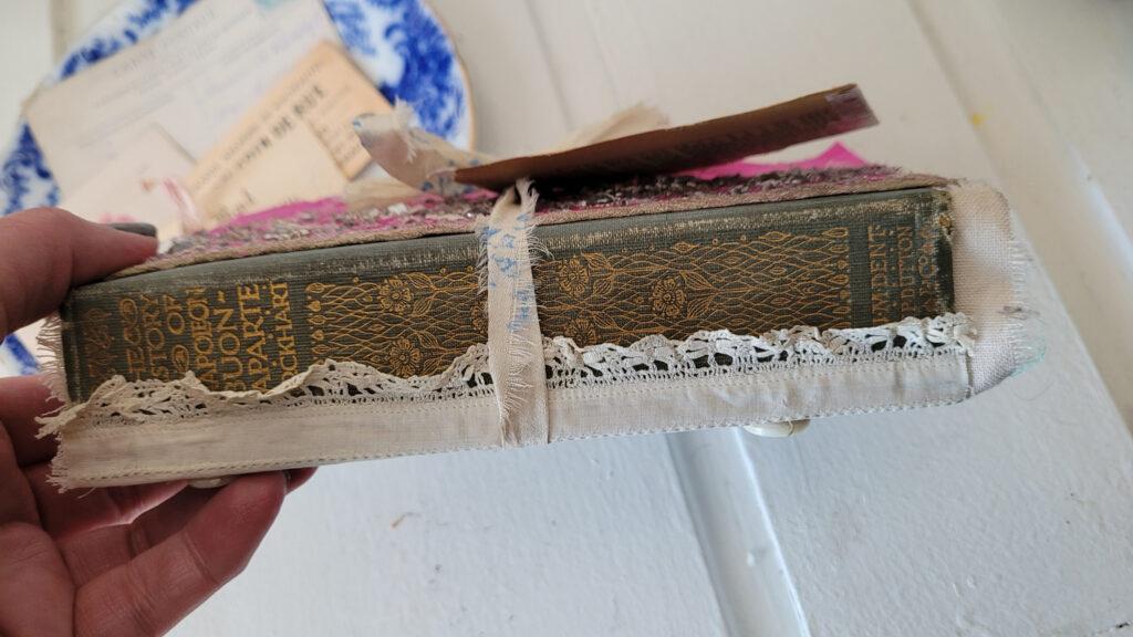 extended junk journal spine