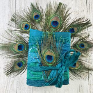 Peacock Ephemera Junk Journal