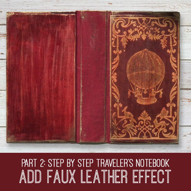 Faux Leather Effect Tutorial