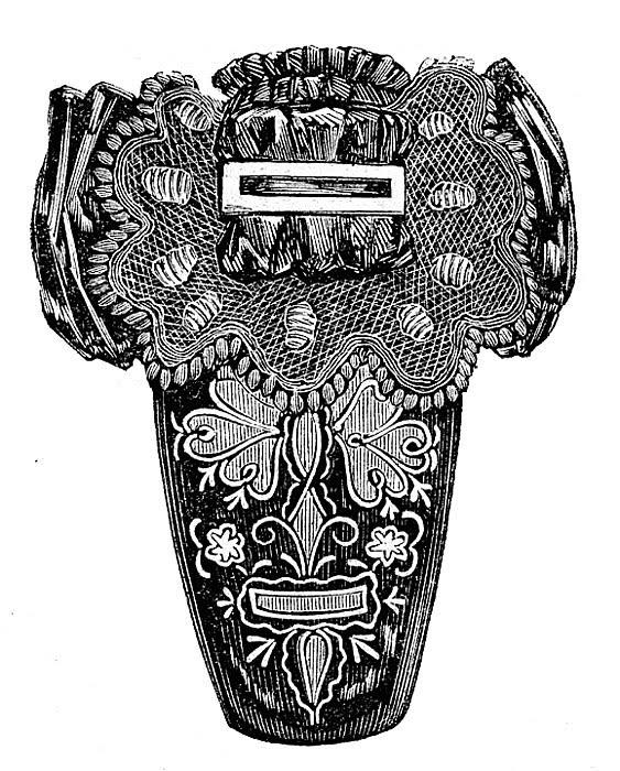 fancy vintage shoe image